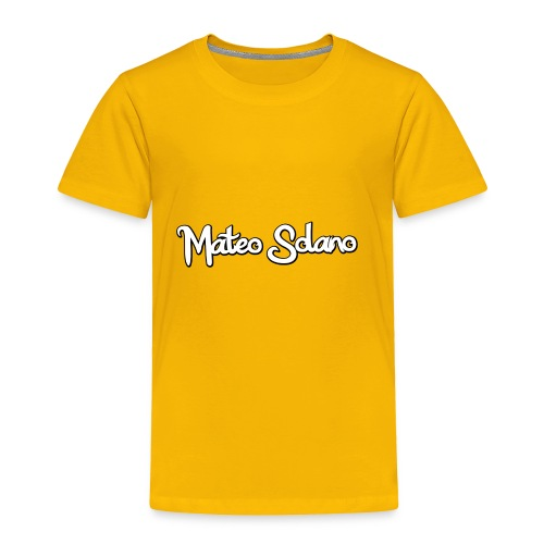 MATEO SOLANO - Toddler Premium T-Shirt
