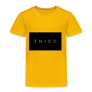 T H I C C T-shirts,hoodies,mugs etc. - Toddler Premium T-Shirt