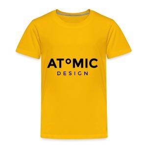 Atomic Design Brand Logo - Toddler Premium T-Shirt