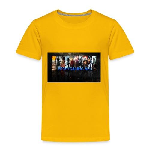 SportGaming Ali - Toddler Premium T-Shirt