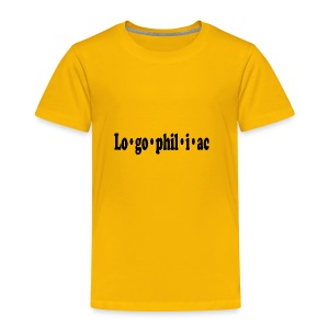 logophiliac - Toddler Premium T-Shirt