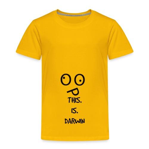 This Is Darwin - Toddler Premium T-Shirt