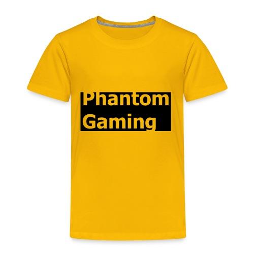 Phantom Shirt No.4   New Logo Design - Toddler Premium T-Shirt
