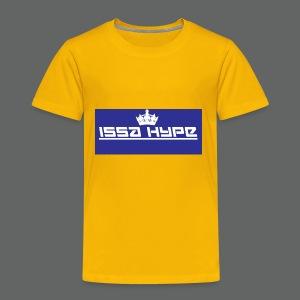 issahype_blue - Toddler Premium T-Shirt