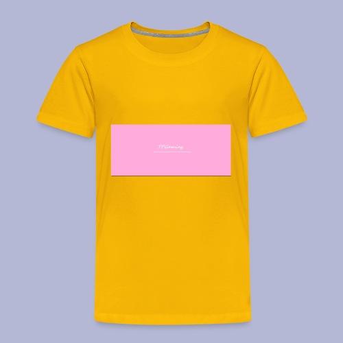 TP_shirt_logo2 - Toddler Premium T-Shirt