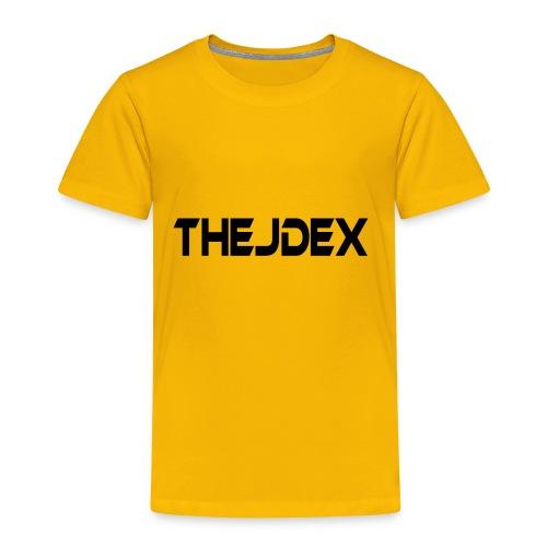 Black Logo - Toddler Premium T-Shirt