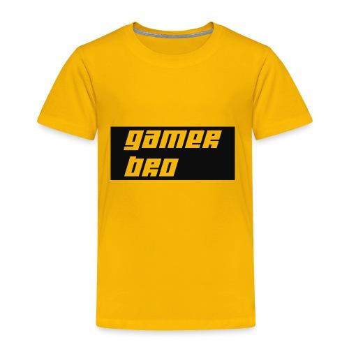 Gamer Bro - Toddler Premium T-Shirt
