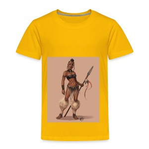 Female Warrior - Toddler Premium T-Shirt