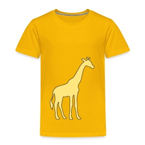 yellow giraffe - Toddler Premium T-Shirt