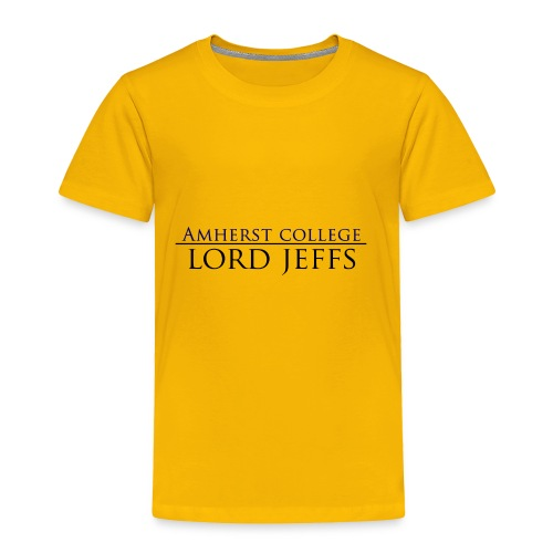 Lord Jeffs - Original White - Toddler Premium T-Shirt