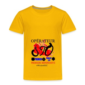 Operateur STO plus size - Toddler Premium T-Shirt
