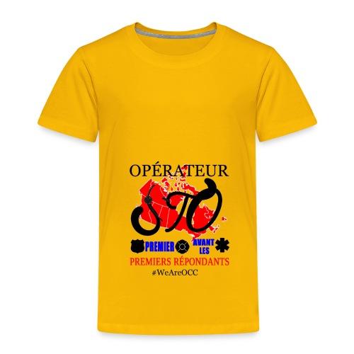 Operateur STO plus size - Toddler Premium T-Shirt