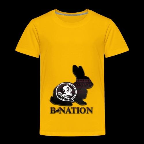 FSU Bunny - Toddler Premium T-Shirt
