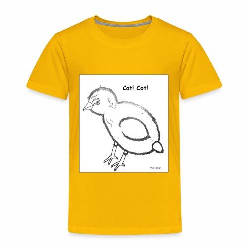 Cot Cot - Toddler Premium T-Shirt