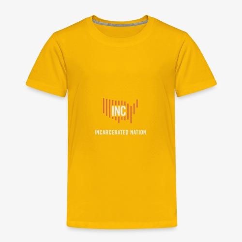 INC Color TransparentBG Red White V - Toddler Premium T-Shirt