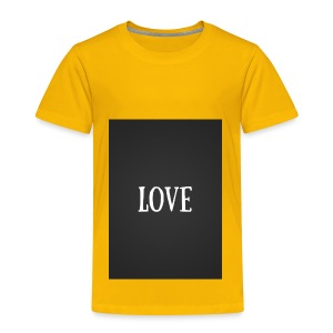 Love - Toddler Premium T-Shirt