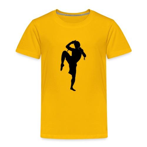 muay thai hoodie - Toddler Premium T-Shirt