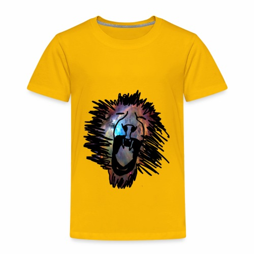 Galaxy Lion - Toddler Premium T-Shirt
