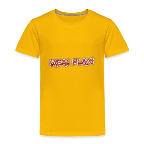 SABAS PLAYS - Toddler Premium T-Shirt