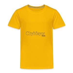 CityMayor Games Logo (Merchandise) - Toddler Premium T-Shirt