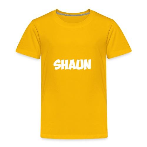 Shaun Logo - Toddler Premium T-Shirt