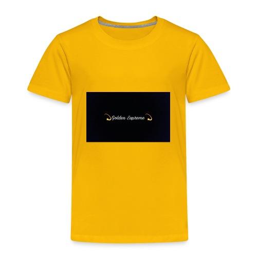 black and gold t shirt - Toddler Premium T-Shirt