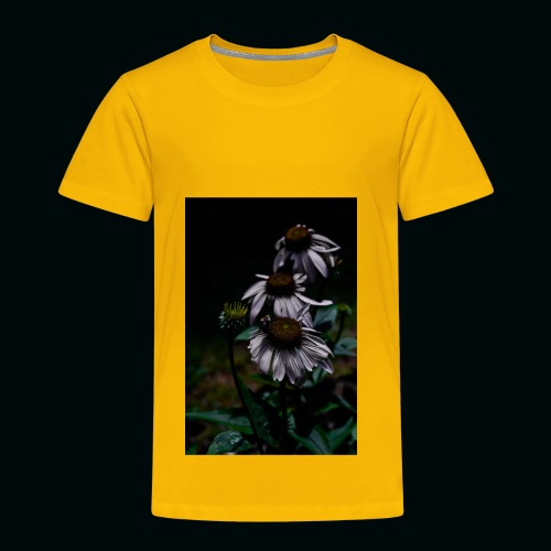 Flowers and Bee - Toddler Premium T-Shirt