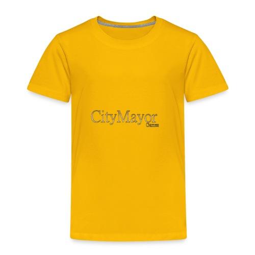 CityMayor Games Logo (Merchandise) - Toddler Premium T-Shirt
