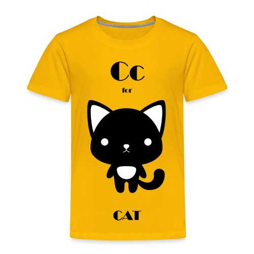CAT_BW - Toddler Premium T-Shirt