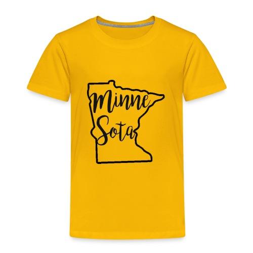 Minnie Sota Minne Sota Favorite State - Toddler Premium T-Shirt