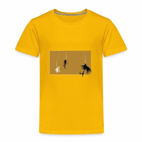 Fishing Shirt Flies - Toddler Premium T-Shirt