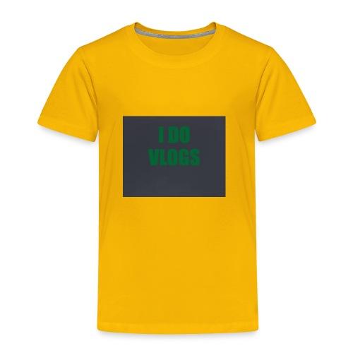 DA BEST MERCH - Toddler Premium T-Shirt