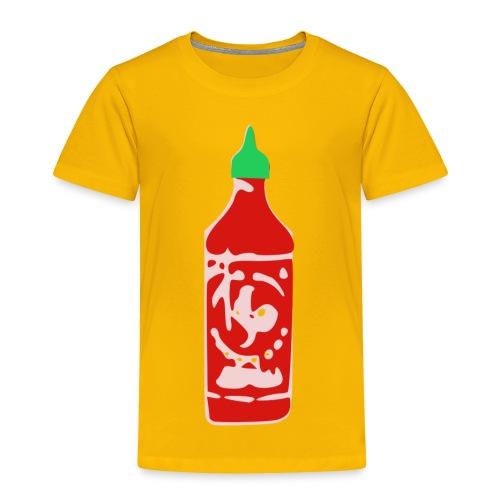 Hot Sauce Bottle - Toddler Premium T-Shirt