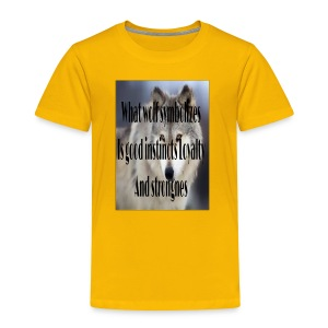 The meaning merch - Toddler Premium T-Shirt
