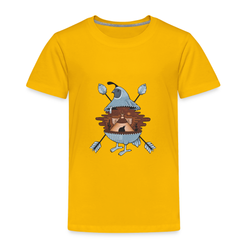 pigeon in the tent - Toddler Premium T-Shirt