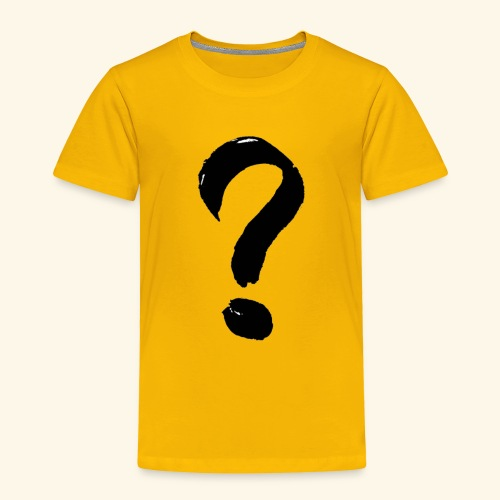 Question Mark T-shirt - Toddler Premium T-Shirt