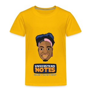 Full Cartoon Understand Notes - Toddler Premium T-Shirt