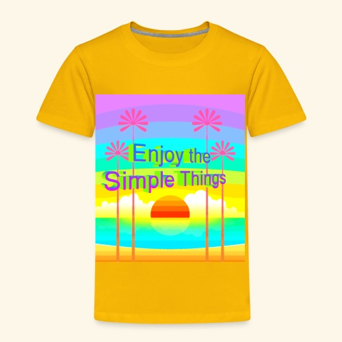 enjoy - Toddler Premium T-Shirt