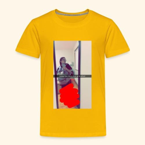 Snapchat 28164789 - Toddler Premium T-Shirt