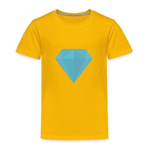long sleeve Diamond shirt - Toddler Premium T-Shirt