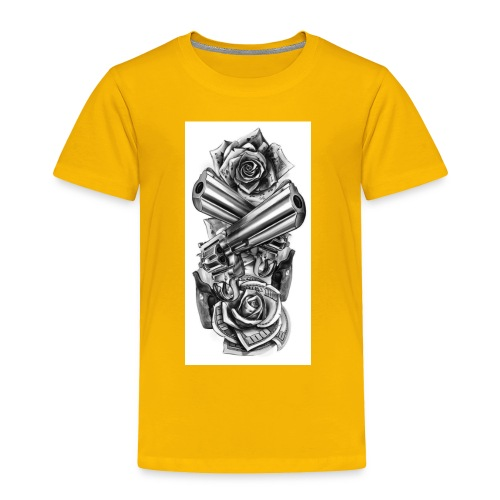 Gunz n Roses - Toddler Premium T-Shirt