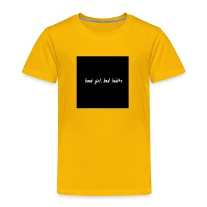 Baddie Pin - Toddler Premium T-Shirt