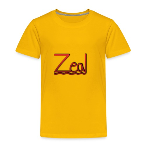 Zeal Red Logo - Toddler Premium T-Shirt