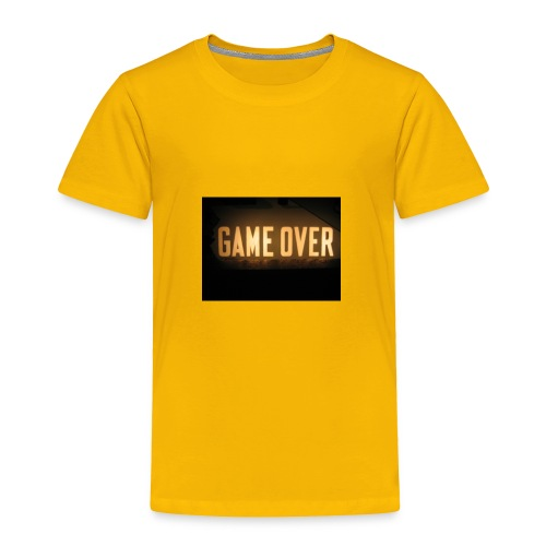 game-over tops ect - Toddler Premium T-Shirt