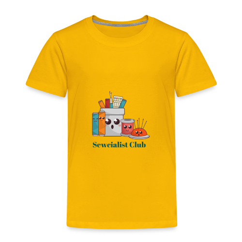 Sewcialist Club - Toddler Premium T-Shirt
