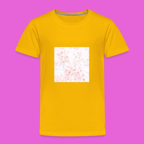cute flower design - Toddler Premium T-Shirt