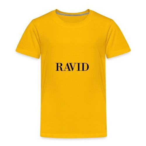 ravid_logo_black - Toddler Premium T-Shirt