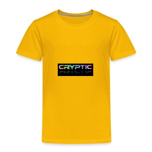Cryptic Bonus Logo - Toddler Premium T-Shirt