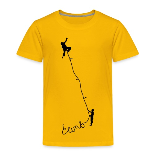 Climbing - Toddler Premium T-Shirt