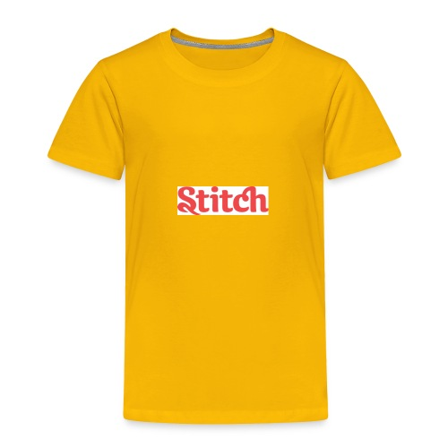 Stitch name - Toddler Premium T-Shirt
